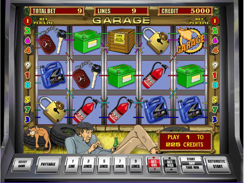 Игровые автоматы гаражи онлайн бесплатно играть без регистрации браузер открывается сам по себе с казино вулкан