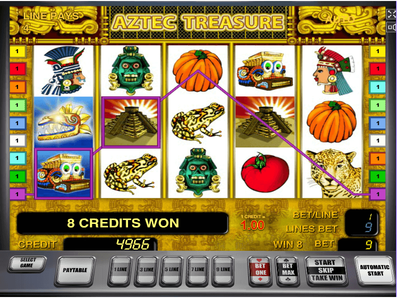 Игровые автоматы сокровища ацтеков играть бесплатно игрок смотреть онлайн покер