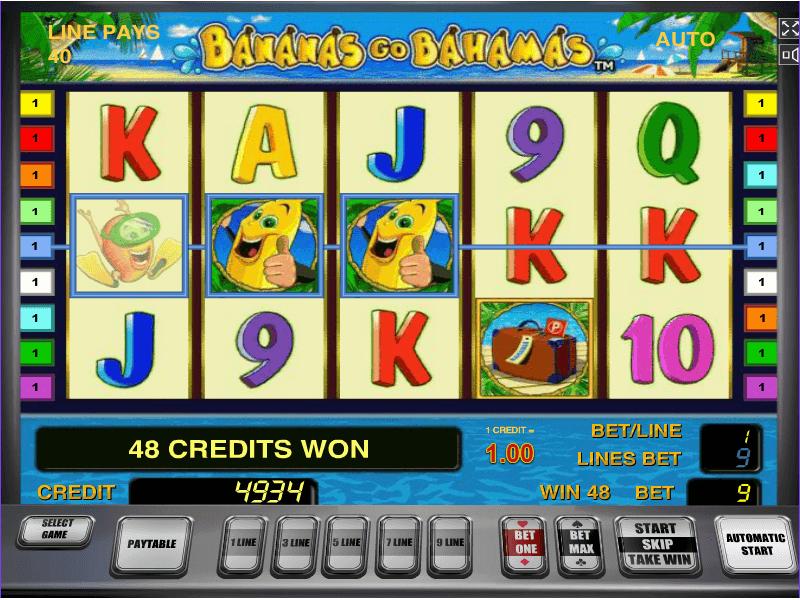 Игровой автомат бананы на багамы игровые автоматы 53 в 1